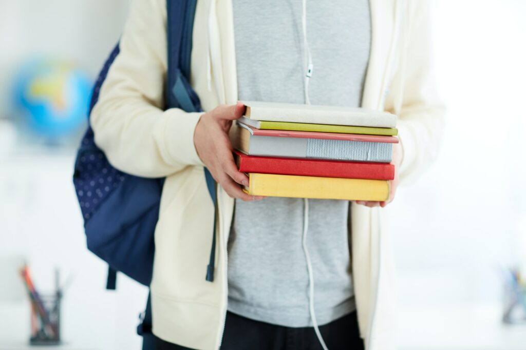 Books of student